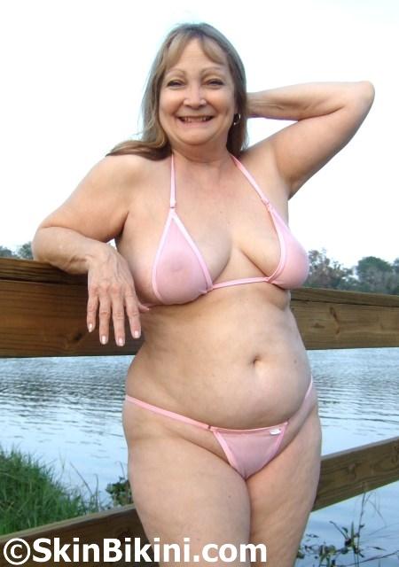 BY-4061 Sexy Micro-Tiny See-Through Bikini Swimwear
